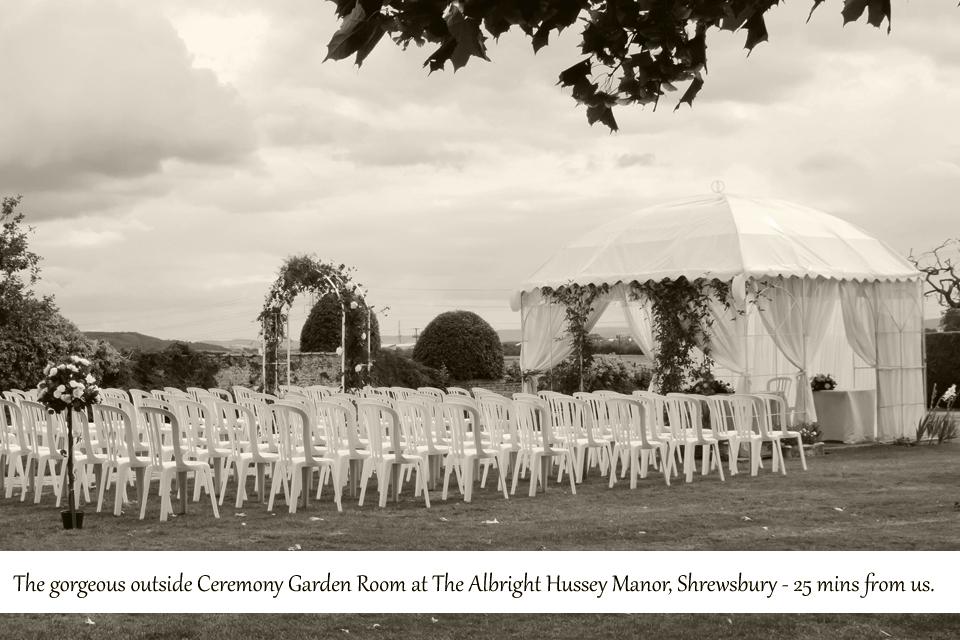 Weddings in Shropshire, spring has sprung!