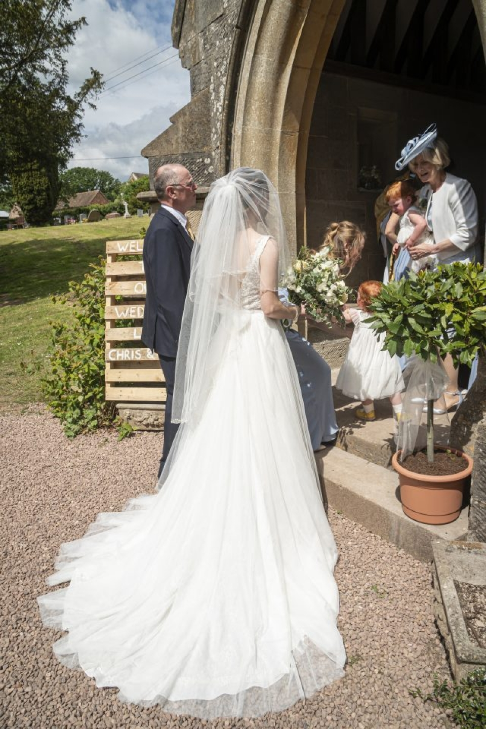 Country Shropshire Wedding