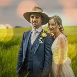 Country-themed Wedding
