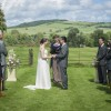 Outside Ceremony at Walcot Hall