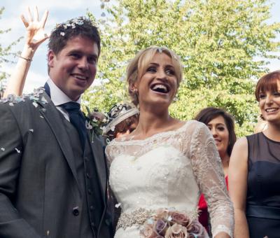 Shropshire Wedding | Church & Marquee Wedding Photography