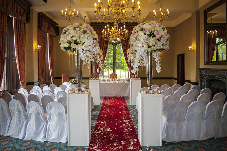 Ceremony at Rowton Castle