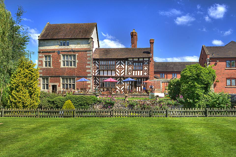 Wedding Photography At The Albright Hussey Manor Hotel Shrewsbury