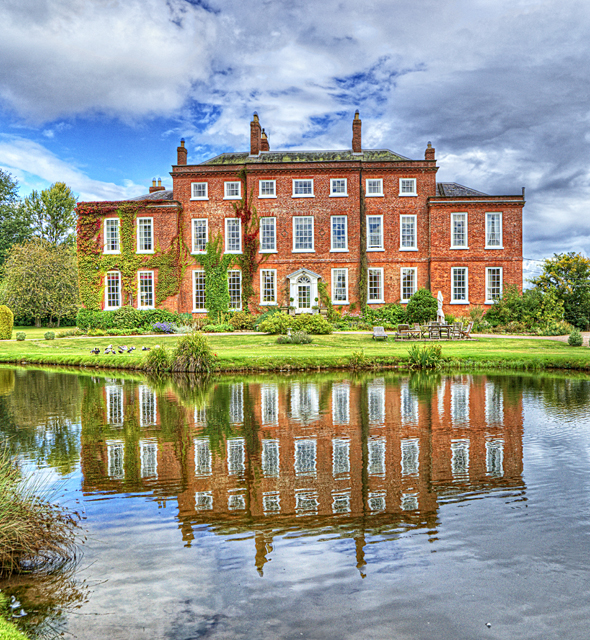 View of Delbury Hall