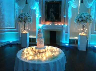 Fabulous lighting for weddings