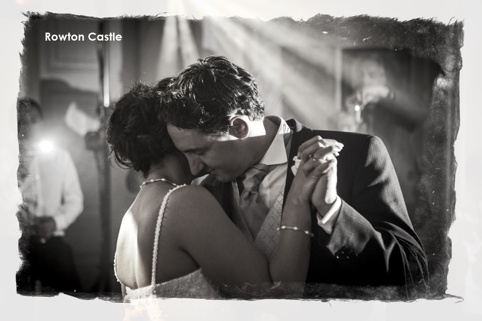 Bride and Groom's first dance at Rowton Castle