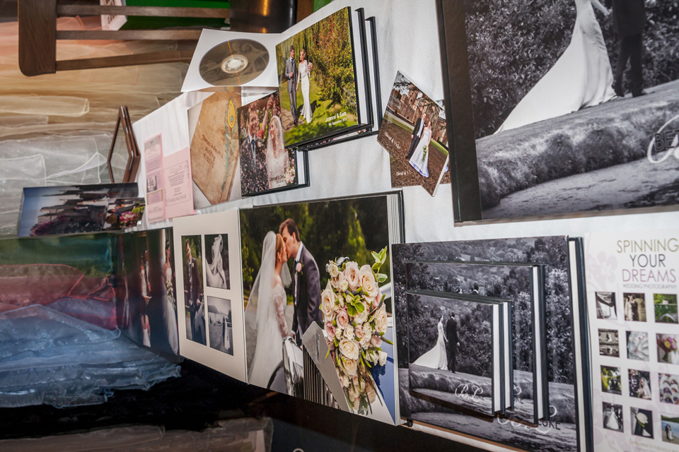 wedding books and albums