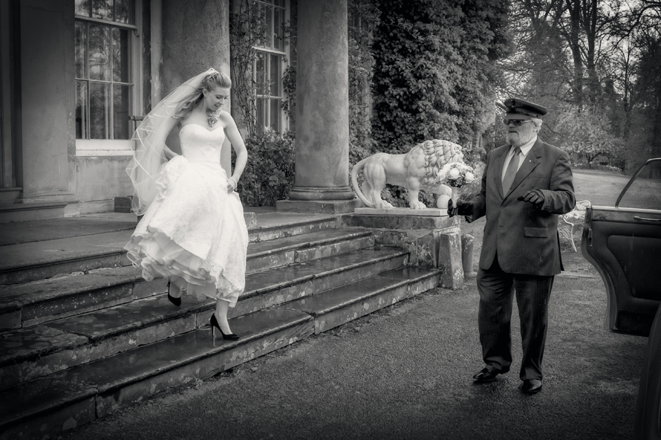 Wedding near Walcot Hall