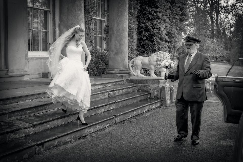 Wedding near Walcot Hall