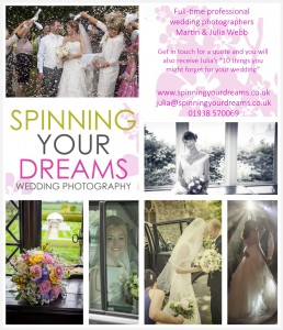 Spinning Your Dreams Adver for Wedding Supplement