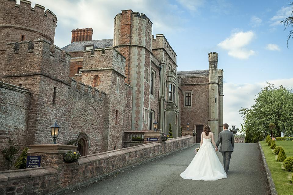 weddings in shropshire at rowton castle wedding